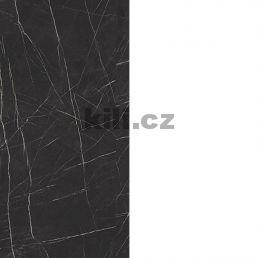Záda za PD Pietra Grigia černá F 206 PT/bílý protitah