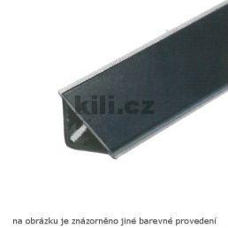 Profil těsnící hliník natural L20/tr/Nat