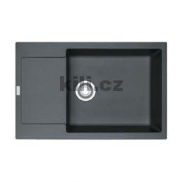 Dřez MRG 611-78 BB 780x500 grafit