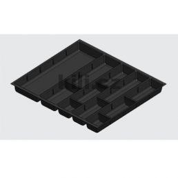 Příborník šedý 450mm Smart box s úchytem pro kořenky