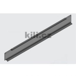 Bočnice kov Side šedá Smart box H:48 - 500mm
