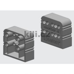 Distanční element Smart box levý šedý