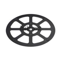 Točna pod TV černý plast D 300
