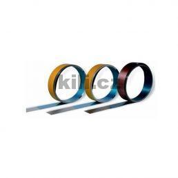 Samolepící  okopový plech 100 mm - mosaz lesklá OP100/Mo