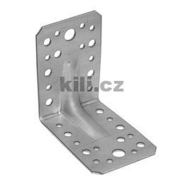 Úhelník s prolisem KP 1, 90x90x65 mm